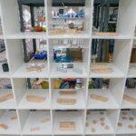 Zubehör in einem Regal - Pustekuchen Dampfer Shop Simmern