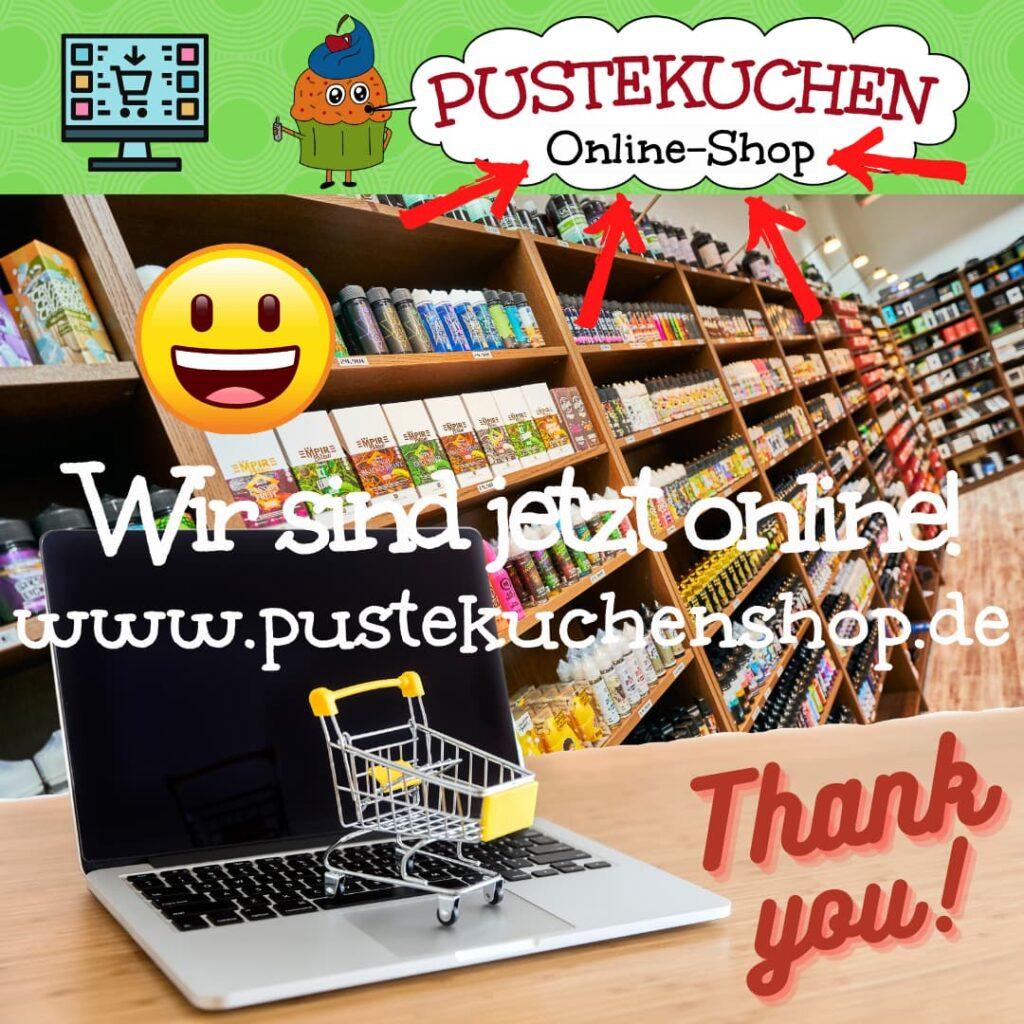 Onlineshop-Eröffnung